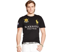 Polo Ralph Lauren - Black Watch Performance Jersey Crew-Neck T-Shirt