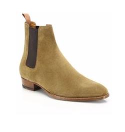 Saint Laurent - Suede Chelsea Boots