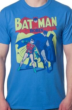 80s Tees - Batman and Robin Shirt
