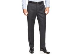 Lauren Ralph Lauren  - Flannel Flat-Front Pants