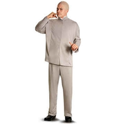Hollywood Toys & Costumes - Austin Powers  Dr. Evil Deluxe Adult Costume