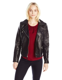 Vince Camuto - Leather Moto Jacket