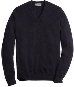 Brooks Brothers - Cashmere V-Neck Sweater