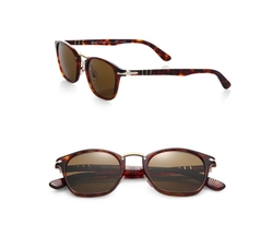Persol - 49MM Square Sunglasses