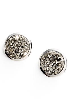 Marcia Moran - Mini Drusy Stud Earrings