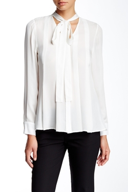 Ramy Brook - Carina Long Sleeve Silk Blouse