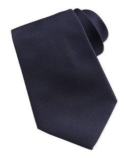Ermenegildo Zegna - Woven Textured-Stripe Silk Tie
