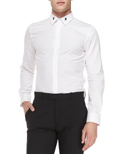 Givenchy - Poplin Collar Dress Shirt