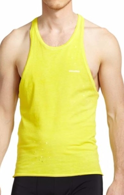 Dsquared2  - Ink Splatter Tank Top