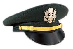 Armed Forces MCSS - U.S. Army Green Service Cap - Company Grade