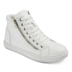 Hazel - Quilted Hi-Top Sneaker