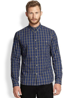 Paul Smith Jeans  - Plaid Sportshirt