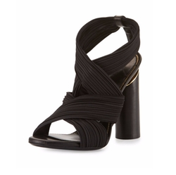 Tom Ford - Ruched Crisscross Sandals