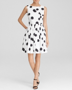 Marc by Marc Jacobs Dress - Exclusive Blurred Dot Apron Dress
