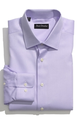 David Donahue  - Regular Fit Oxford Dress Shirt
