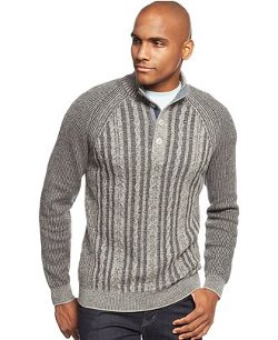 Tommy Bahama  - Barbados Mock-Neck Cable-Knit Sweater