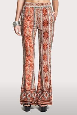 Erica Rose Boutique - Print Bell Bottoms