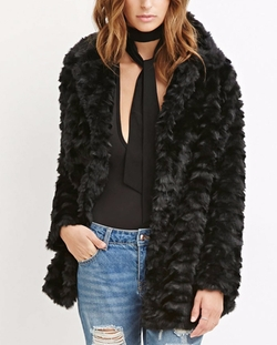 Forever 21 - Contemporary Faux Fur Coat