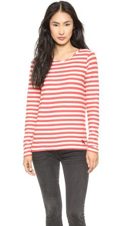 Marc Jacobs  - Pam Stripe Long Sleeve Tee