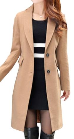 Galsang - Slim Fit Woolen Coat