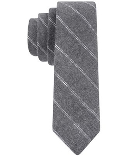 Tommy Hilfiger - Micro Wool Stripe Skinny Tie