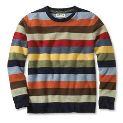 Orvis - Lambswool Multicolor Crewneck Sweater