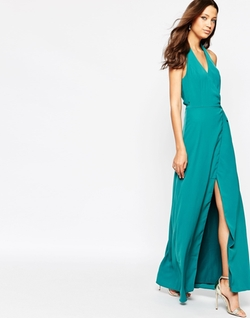 Jarlo Tall  - Halter Neck Maxi Dress