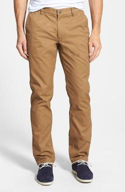 Bonobos  - Slim Straight Leg Washed Cotton Chino Pants