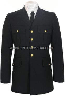 Uniforms-4U - US Army Dress Blue Asu Officer Jacket