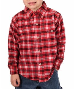 Farmall IH - Little Plaid Flannel Shirt