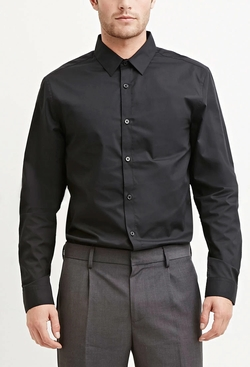 Forever21 - Cotton-Blend Shirt