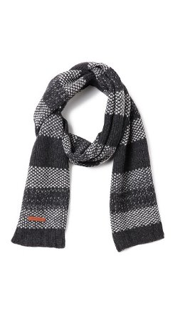 Bickley + Mitchell  - Lambswool Stripe Scarf