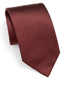Armani Collezioni  - Solid Silk Tie