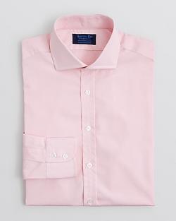 Hilditch & Key  - Solid End-on-End Dress Shirt