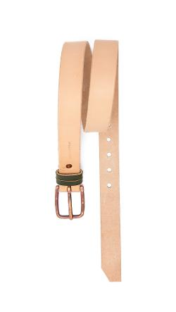 Cause and Effect  - Natural Leather Belt