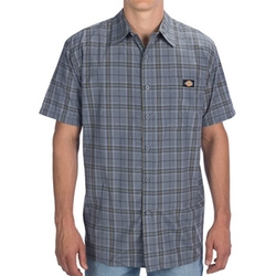 Dickies  - Plaid Square Bottom Shirt