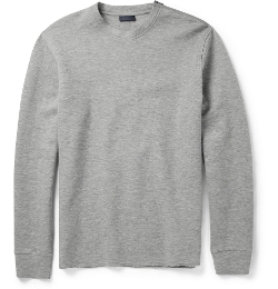 Lanvin - Zip-Shoulder Cotton-Blend Jersey Sweatshirt