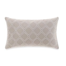 Real Simple  - Boden Embroidered Oblong Throw Pillow