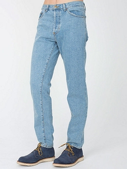 American Apparel - Regular Fit Denim Pants