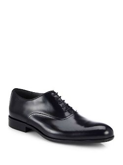 Boss Hugo Boss  - Bronx Shiny Leather Oxford Shoes