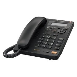Panasonic - Integrated Corded Phone with All-Digital Answering System