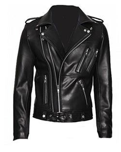 Uninukoo-Men Clothes - Zipper Biker Jacket