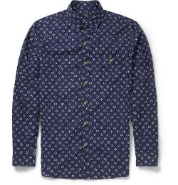 J.Crew   - Printed Cotton Shirt