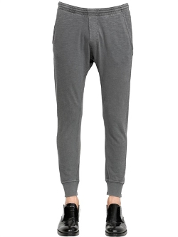 Dsquared2 - Faded Cotton Jersey Jogging Pants