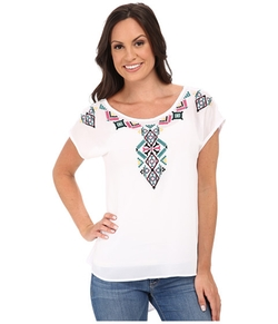 Roper - Solid Georgette Top