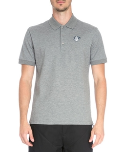 Givenchy  - Rottweiler Patch Pique Polo Shirt