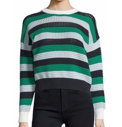 See by Chloe - Long-Sleeve Cropped Sweater