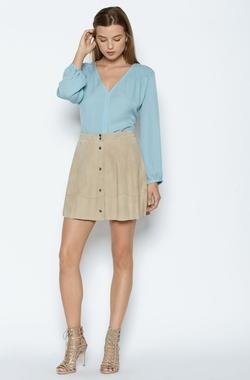 Joie - Lazuli Suede Skirt