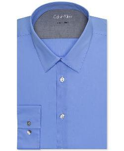 Calvin Klein  - X Extra Slim-Fit Solid Dress Shirt