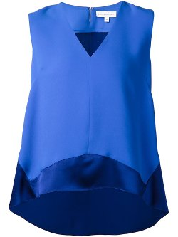 Narciso Rodriguez  - V-Neck Sleeveless Top